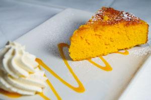 Duffys-Malahide-best-food-in-Dublin-Ginger-&-Pear-Cake-with-Ginger-Caramel-Sauce
