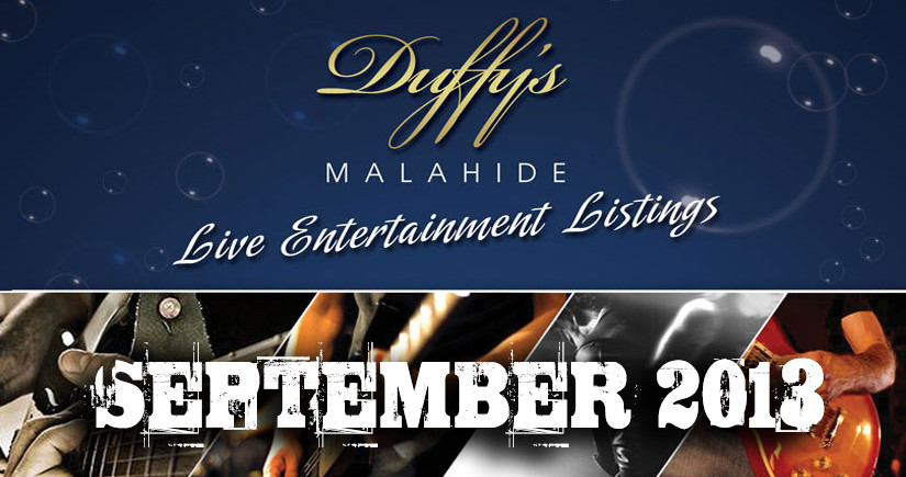 Duffy's-Malahide---Live-bands-in-Dublin-this-weekend-September-2013