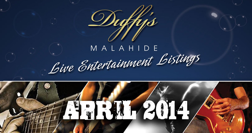 DUFFY'S---Band-Listings-April-2014-Top-live-Music-Venue