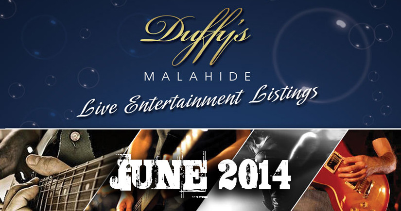 DUFFY'S---Band-Listings-June-2014-Top-live-Music-Venue-Dublin