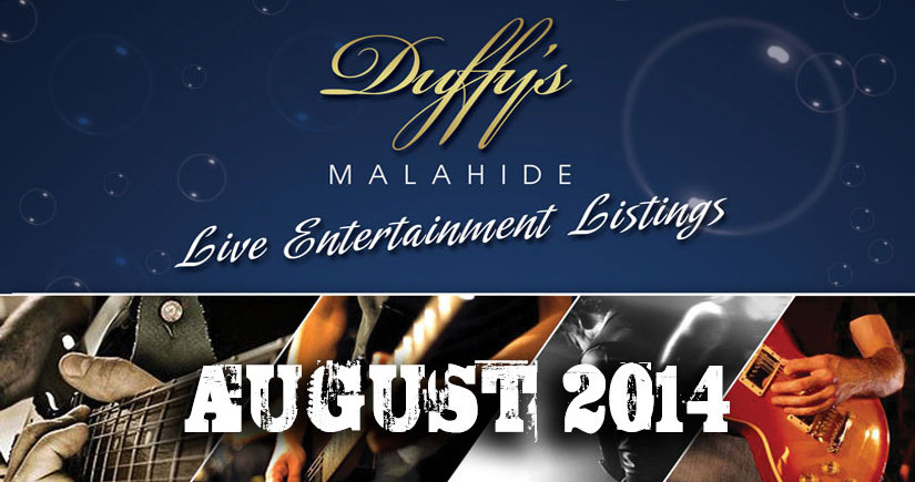 DUFFYS-Band-Listings-August-2014-Best-live-Music-Venue-Dublin