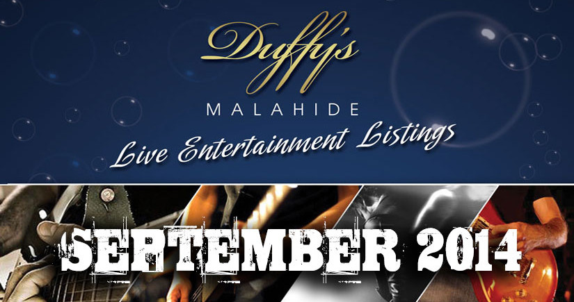 DUFFYS-Band-Listings-September-2014-Gigs-in-Malahide-Dublin-this-weekend