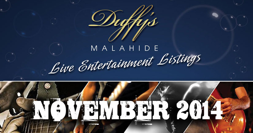 Live-Bands-in-Dublin-Pubs-November-2014---Duffy's-Live-Bands-Listings