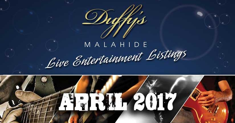 Things to Do at Night in Dublin This Weekend - Duffy's Live Entertainment April 17