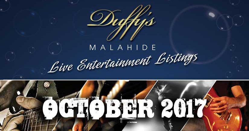 Dublin's best pubs and music bars - Duffy's Pub Malahide - OCT'17