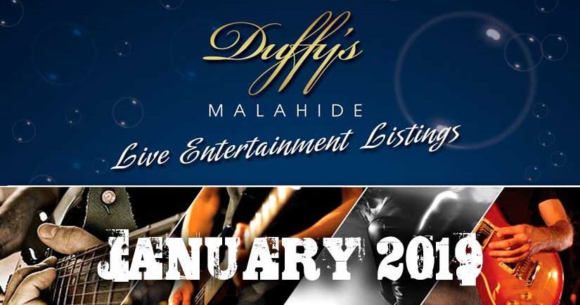 Fancy Live Music in Malahide tonight - Duffy's Band Listings Jan 2020